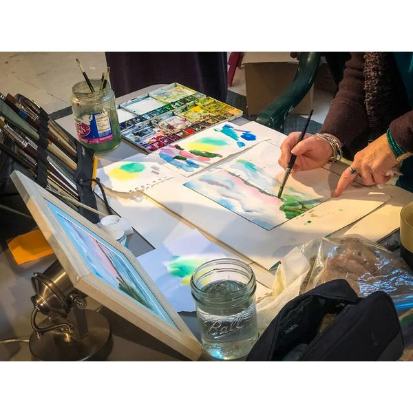 Art & Spirit Watercolor Play Day with Melissa Harris
