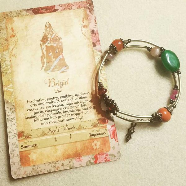 Greeting Your Goddess - Custom Jewelry Creations