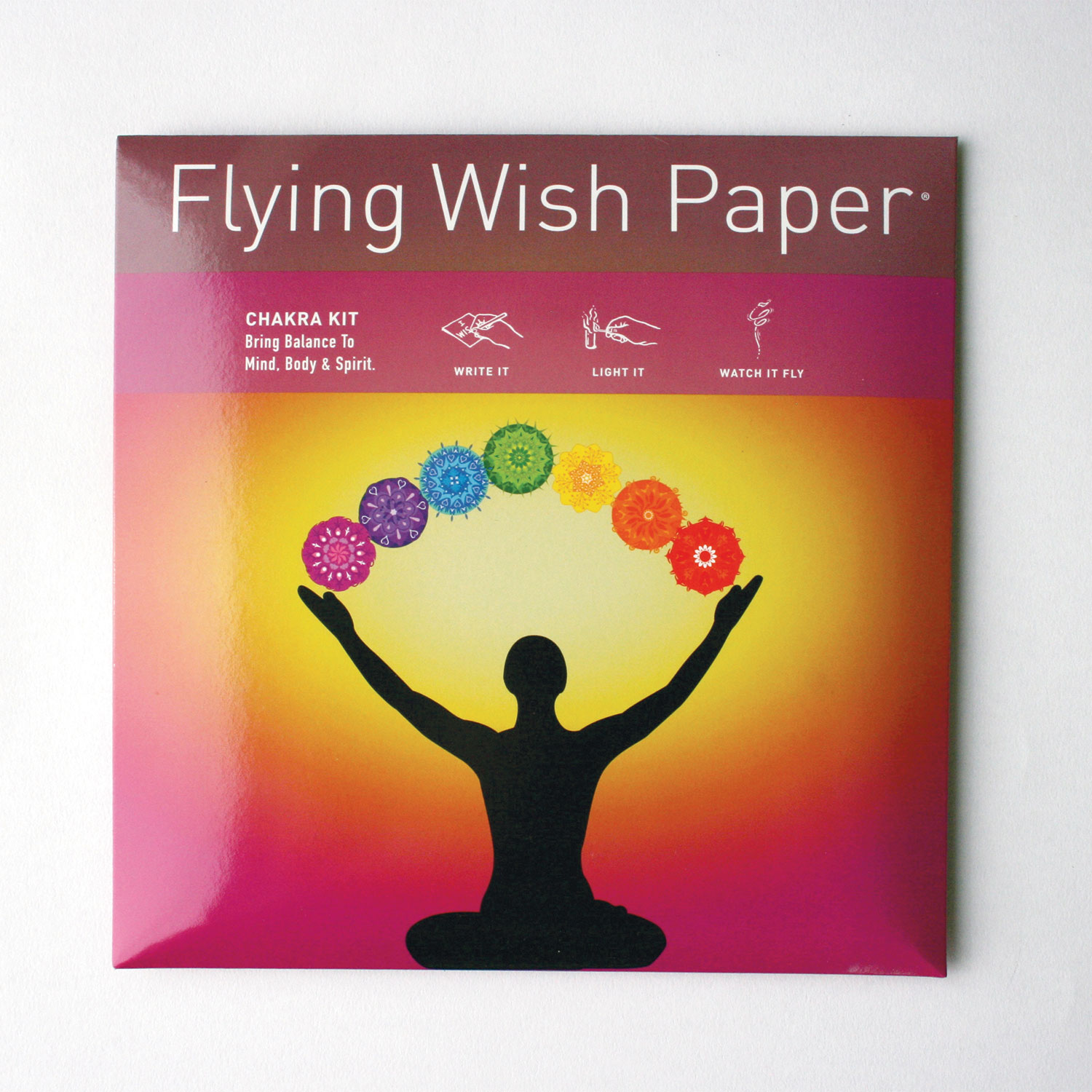Flying Wish Paper Large Chakra Kit