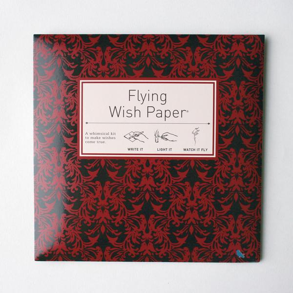 Flying Wish Paper Large Red Velvet