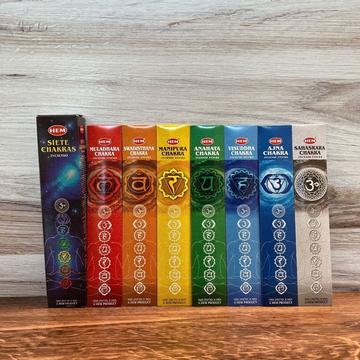 HEM Incense Sticks, Seven Chakras