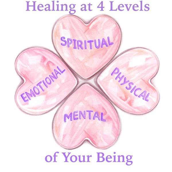 Healing at 4 Levels of Your Being: 4 Month Program * Cancelled *