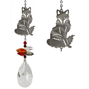 Crystal Fantasy Suncatcher, Fox