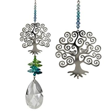 Crystal Fantasy Suncatcher, Tree of Life (Large)