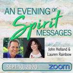 An Evening of Spirit Messages with John Holland & Lauren Rainbow
