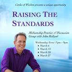 Raising the Standards: Mediumship Practice & Discussion Group with John Holland