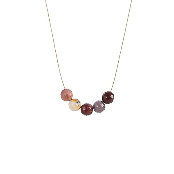 Mookaite Intention Necklace for Motivation