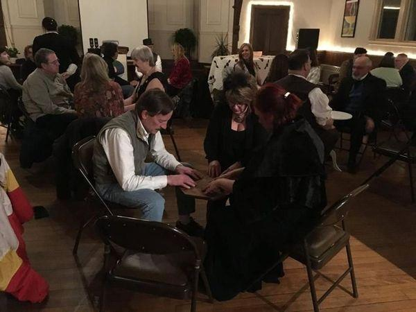 An Evening of Connecting with Spirit through Table Tipping