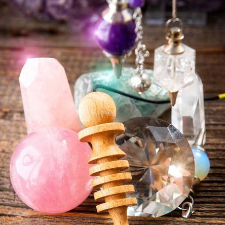 Chakra Archetype Workshop with Crystals & Pendulums for Healing