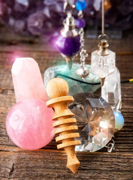 Experience a Fun Day with Crystals, Gemstones & Pendulums