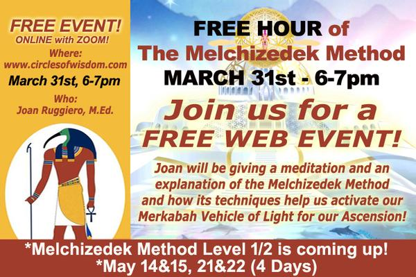 FREE Introduction to Melchizedek Method