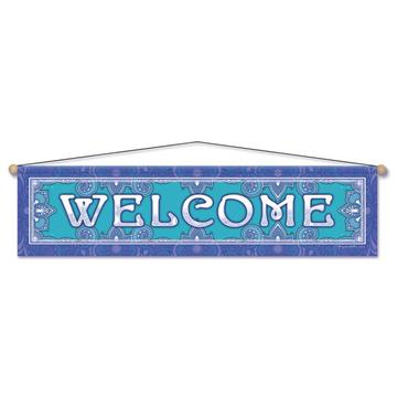 Welcome Entry Banner