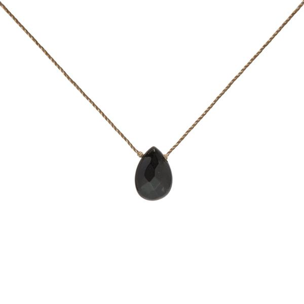Black Onyx Soul-Full of Light Necklace for Stress Relief