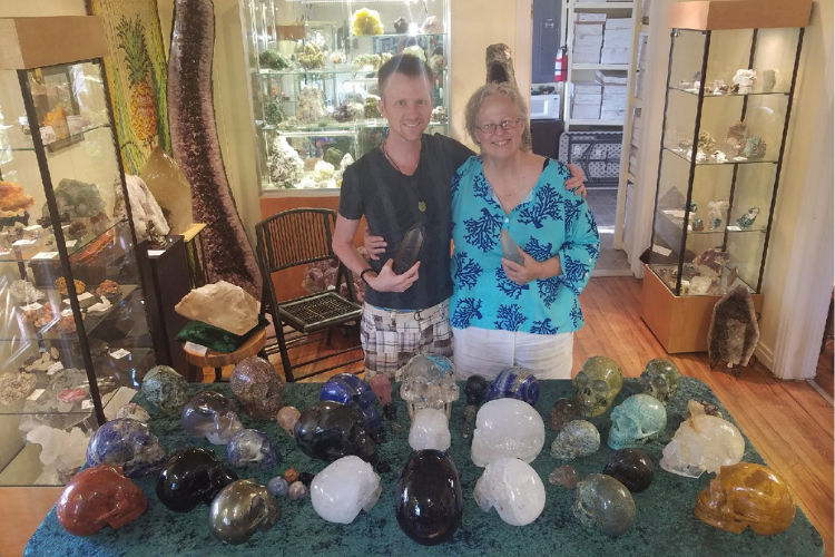 Crystal Skull Events online with Sharron Britton and Nicholas Pearson
