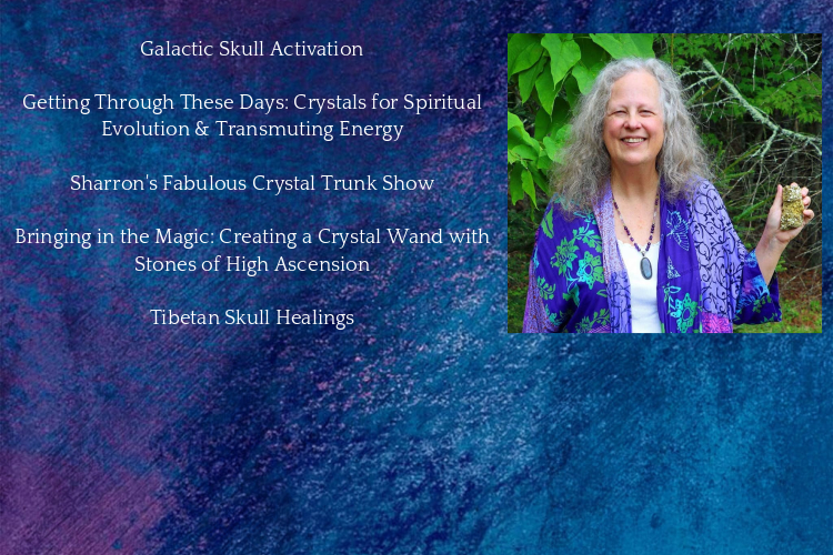 Workshops and Healing Sessions with the Rock Priestess Sharron Britton