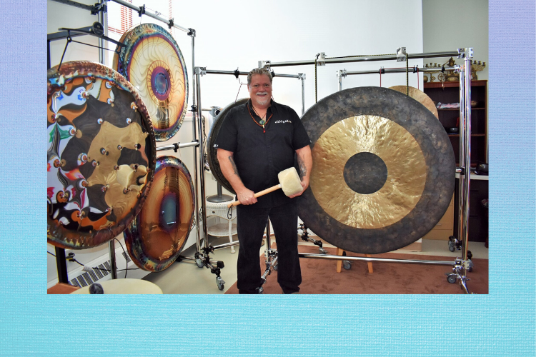 Learn to play the Gong with Ed Cleveland