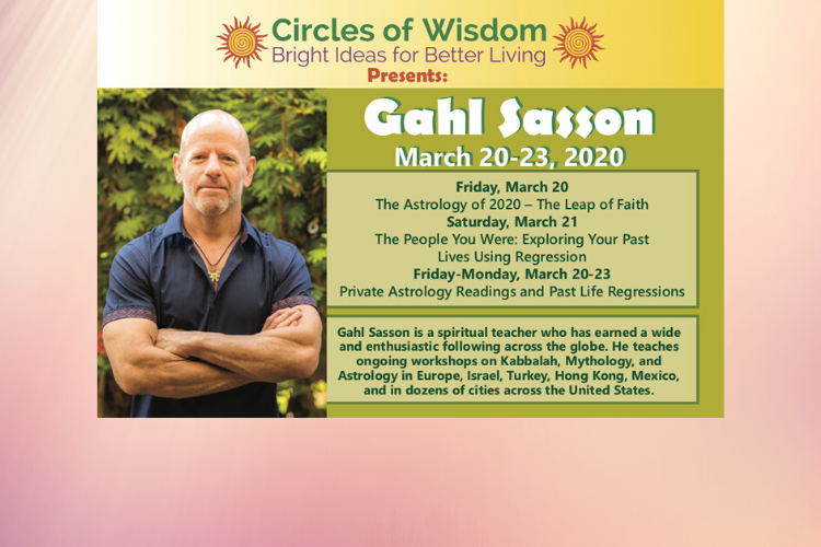 Spiritual Teacher and Author Gahl Sasson offers Astrology and Past Life Regression Classes