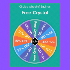 Circles Wheel of Savings! Shop in Store, Spin & Win!