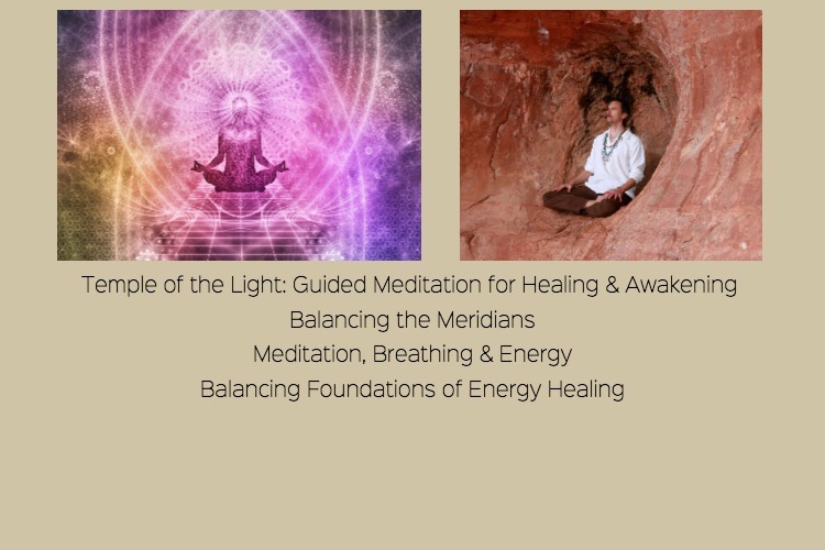 A Day of Meditation and Energy Balancing Classes with guest Eric Lindemer