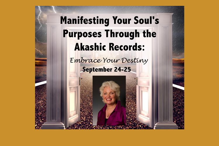 Akashic Records Visionary Linda Howe returns to Andover!