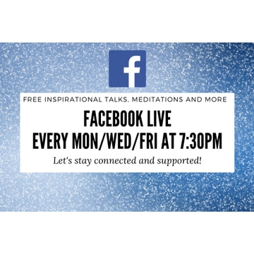 Free Facebook Live Events this Week!