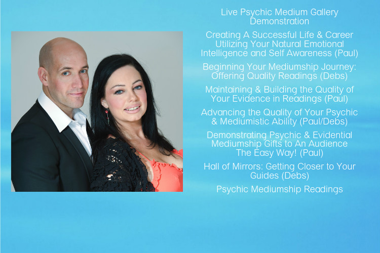 Psychic Mediums Paul and Deborah Rees from Accolade Academy UK